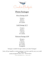 Print Packages!!