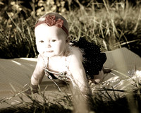 Idabelle's 8 month session!